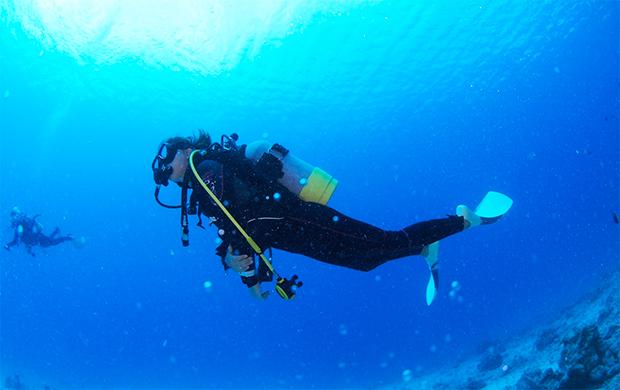 海洋実習(オープン・ウォーター・ダイブ)