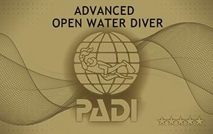 PADI アドヴァンスド・オープン・ウォーター・ダイバー