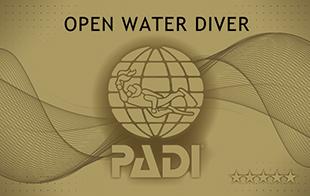PADI オープン・ウォーター・ダイバー