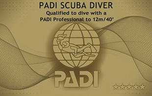 PADI スクーバ・ダイバー