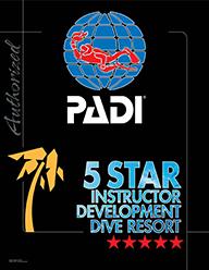PADI5スター・インストラクター・ディベロップメント・ダイブリゾート