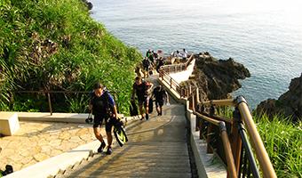 沖縄本島中部ビーチダイビングプラン