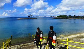 沖縄本島南部ビーチダイビングプラン