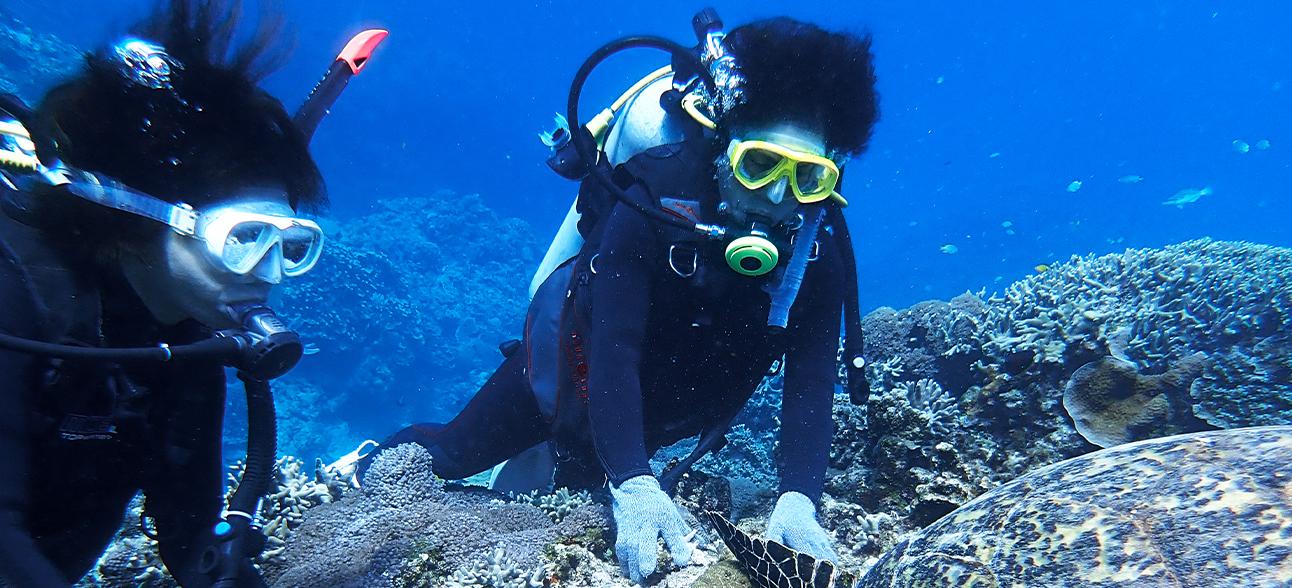 沖縄の海を体験しよう! / 体験ダイビング