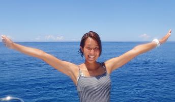 「ダイビングインストラクターになりたい!!」ユカの研修記録