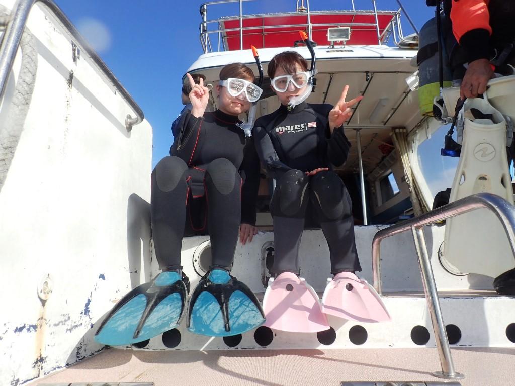 初沖縄&初スノーケリング&初ダイビング