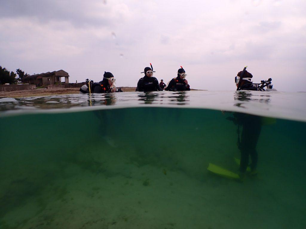 沖縄でダイビングのライセンスゲット旅!2日目☆