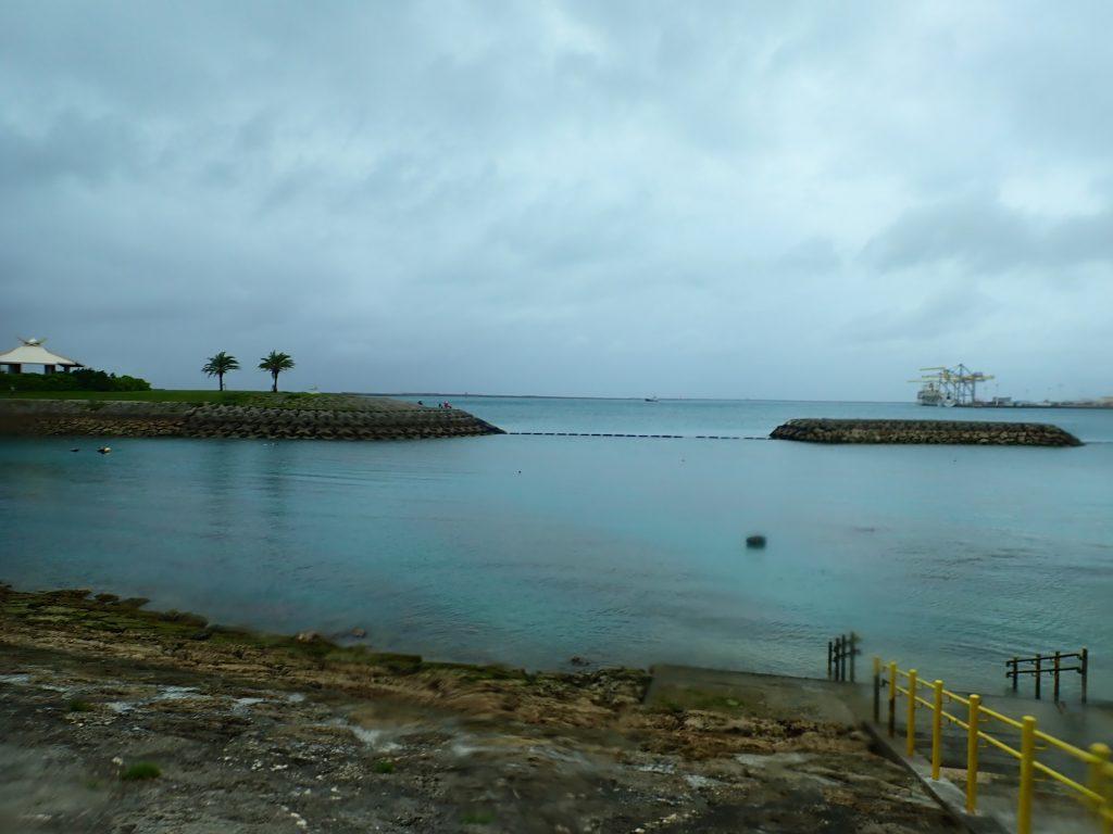 台風通過後のダイビングは沖縄本島の海から☆
